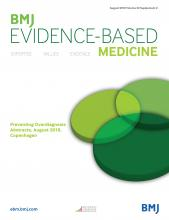 BMJ Evidence-Based Medicine: 23 (Suppl 2)